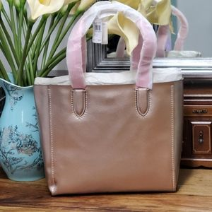 NTW Coach Derby Tote, Rose Gold